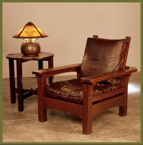 gustav stickley furniture and reproductions