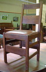 Side chair.