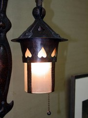 Close-up image of lantern.