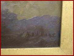 "Signature: ""M.B. Williams""..Mary Beth Williams."