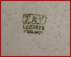 "Signature: ""T&V"" in a rectangle above ""Limoges, France"""