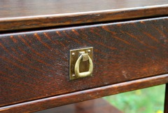 Detail drawer pull.