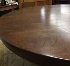 Close up of table top.
