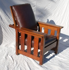 Lifetime Furniture Company , Grand Rapids bookcase and chair Co. Morris Chair