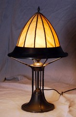 Arts & Crafts Secessionst table lamp