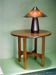 Gustav Stickley/Harvey Ellis large lamp table