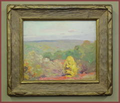 Impressionist Landscape Oil  Signed: Paul T. Sargent.  Listed artist Paul Turner Sargent, Charleston