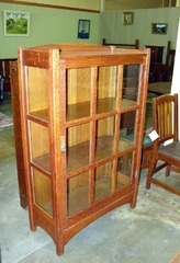 VINTAGE L. & J.G. STICKLEY CHINA CABINET