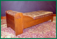 Original Limbert Daybed with Heart Cut-out Design