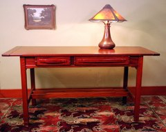 Greene & Greene style writing desk.