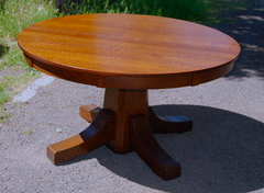 Original Stickley Brothers 54 in dining table