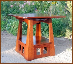 Accurate Replica Rare Charles Limbert Pagoda Table