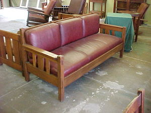 Stickley Brothers Settle