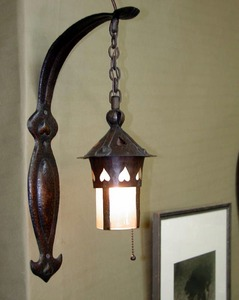 Original Gustav Stickley Wall Sconce