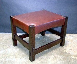 Accurate Replica Gustav Stickley Footstool
