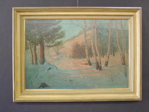 Svend Svendson 1864-1934 Chicago, Illinois Oil Painting Listed Artist