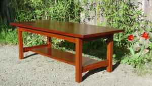 Greene and Greene Style Coffee Table