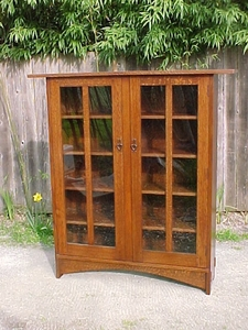 Two-Door Bookcase