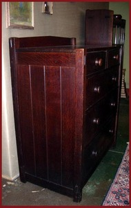 Early Gustav Stickley Dresser